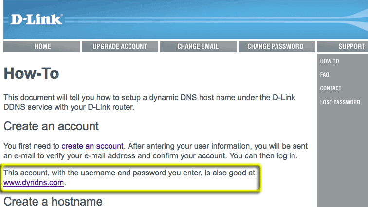 How to still get a free DynDNS account – BoomShadow net